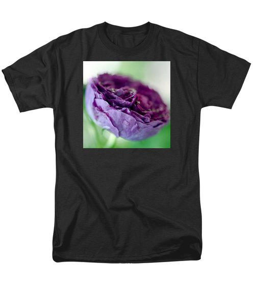 Purple Rose T-Shirt by Frank Tschakert