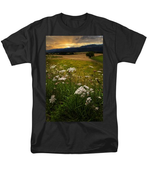 Queen Anne's Lace T-Shirt by Debra and Dave Vanderlaan