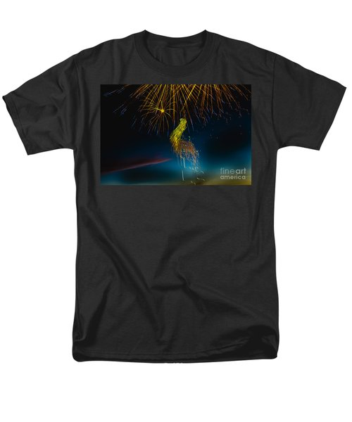 Rays Of Light From Above T-Shirt by Robert Bales