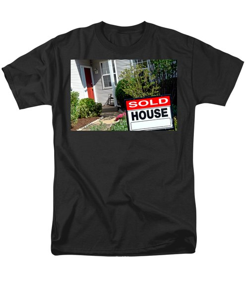 Real Estate Sold House Sign and Home for Sale T-Shirt by Olivier Le Queinec