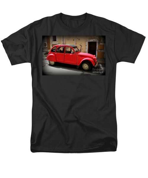 Red Deux Chevaux T-Shirt by Lainie Wrightson
