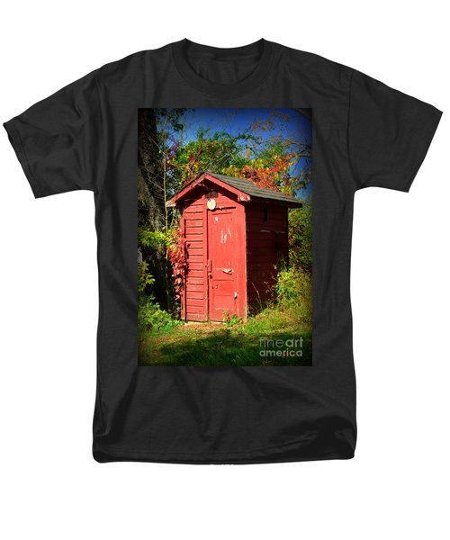 Red Outhouse T-Shirt by Paul Ward