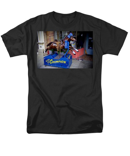 Ride The Champion T-Shirt by Garry Gay