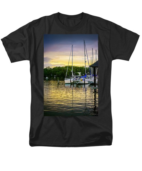 Ripples at Sunset T-Shirt by Brian Wallace