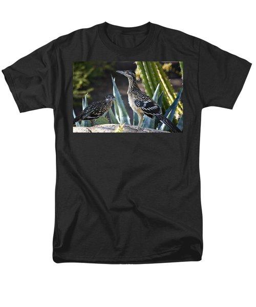 Roadrunners At Play  Men's T-Shirt  (Regular Fit) by Saija  Lehtonen