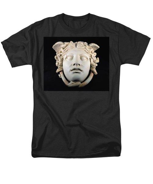 Rondanini Medusa, Copy Of A 5th Century Bc Greek Marble Original, Roman Plaster Men's T-Shirt  (Regular Fit) by .