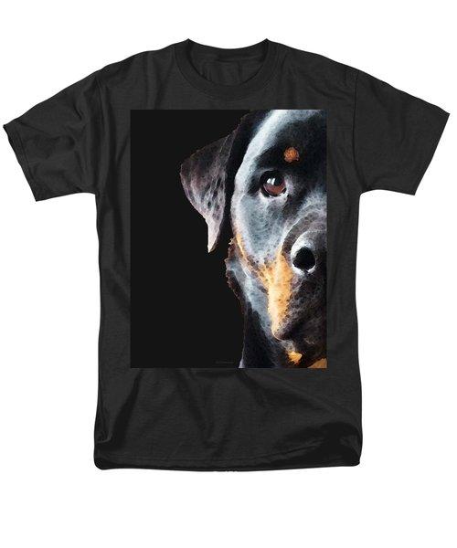 Rottie Love - Rottweiler Art By Sharon Cummings T-Shirt by Sharon Cummings