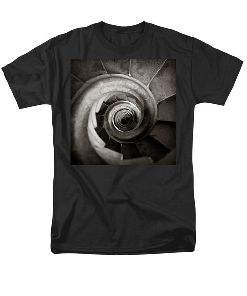 Sagrada Familia Steps Men's T-Shirt  (Regular Fit) by Dave Bowman