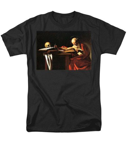 Saint Jerome Writing T-Shirt by Caravaggio