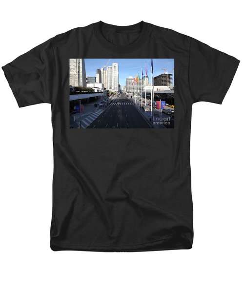 San Francisco Moscone Center and Skyline - 5D20513 T-Shirt by Wingsdomain Art and Photography