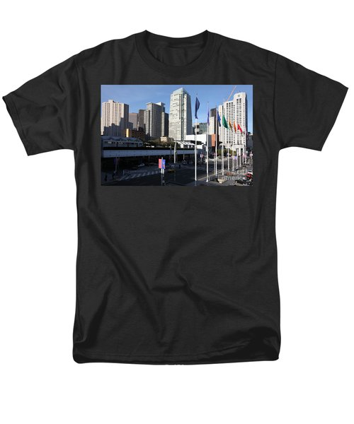 San Francisco Moscone Centerand And Skyline - 5D20504 T-Shirt by Wingsdomain Art and Photography