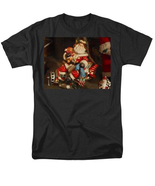 Santa Claus - Antique Ornament -05 T-Shirt by Jill Reger