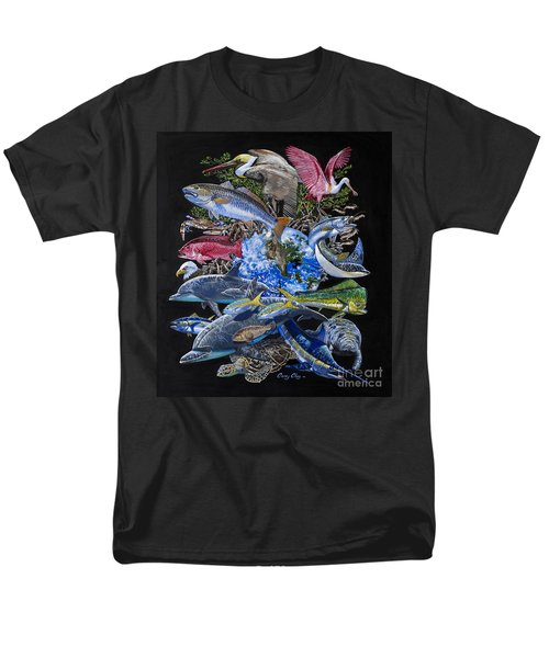 Save Our Seas In008 Men's T-Shirt  (Regular Fit) by Carey Chen