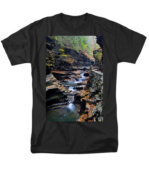 Scenic Cascade T-Shirt by Frozen in Time Fine Art Photography