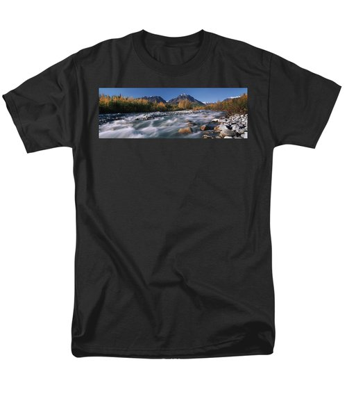 Scenic Of Granite Creek In Autumn Sc T-Shirt by Calvin Hall