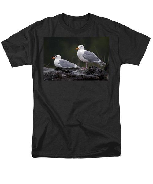 Seagulls T-Shirt by Gary Langley