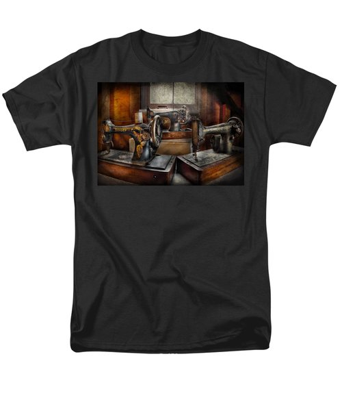 Sewing - A Chorus of Three T-Shirt by Mike Savad