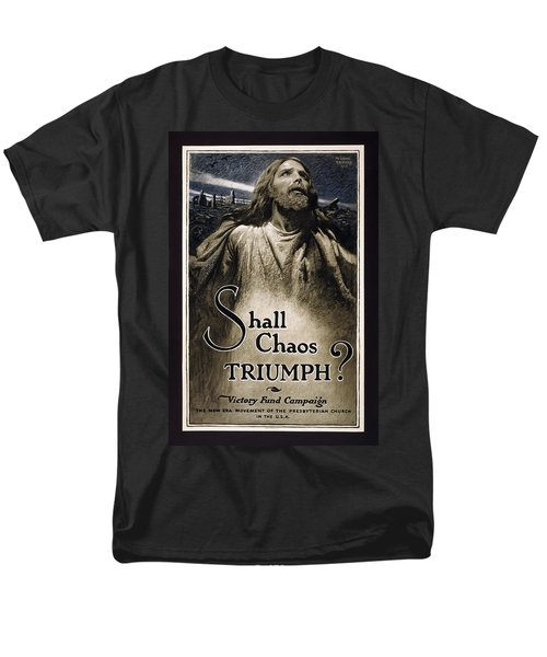 SHALL CHAOS TRIUMPH - W W 1 - 1919 T-Shirt by Daniel Hagerman