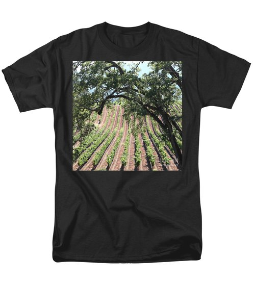 Sonoma Vineyards In The Sonoma California Wine Country 5D24619 square T-Shirt by Wingsdomain Art and Photography