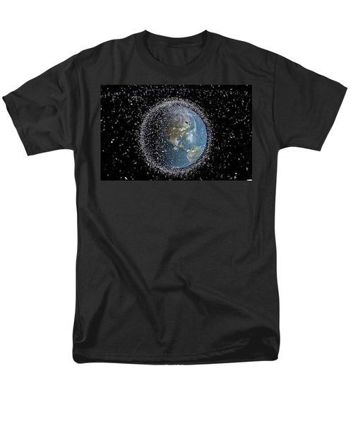 Men's T-Shirt  (Regular Fit) featuring the photograph Space Junk by Science Source
