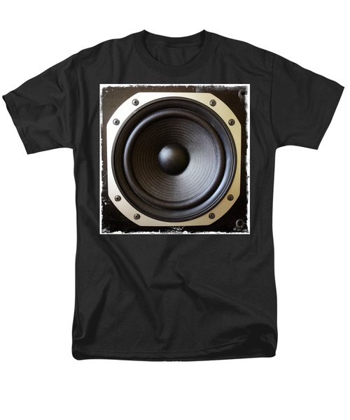 Speaker T-Shirt by Les Cunliffe