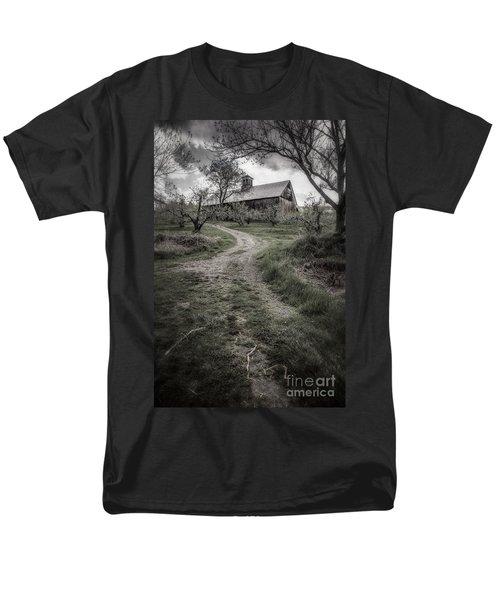 Spooky Apple Orchard T-Shirt by Edward Fielding