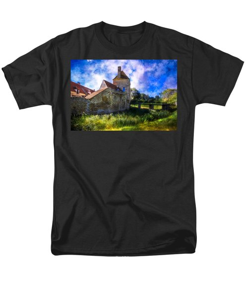 Spring Romance In The French Countryside Men's T-Shirt  (Regular Fit) by Debra and Dave Vanderlaan