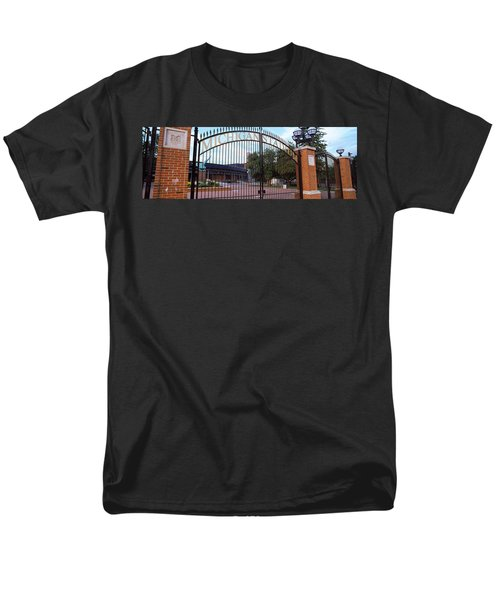Stadium Of A University, Michigan Men's T-Shirt  (Regular Fit) by Panoramic Images