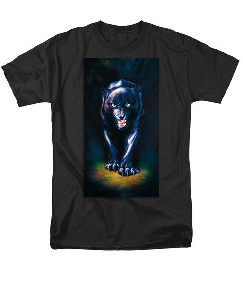 Stalking Panther Men's T-Shirt  (Regular Fit) by Andrew Farley