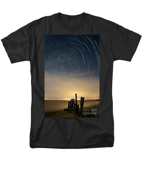 Startrails 2 T-Shirt by Benjamin Reed