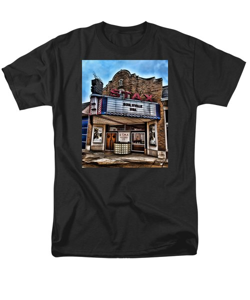 Stax Records Men's T-Shirt  (Regular Fit) by Stephen Stookey