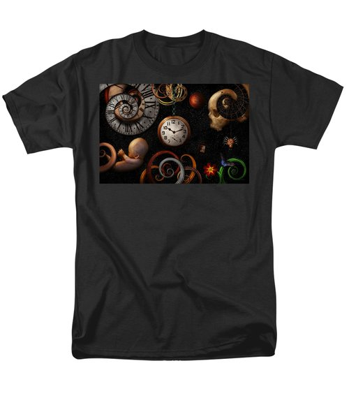 Steampunk - Abstract - The beginning and end T-Shirt by Mike Savad