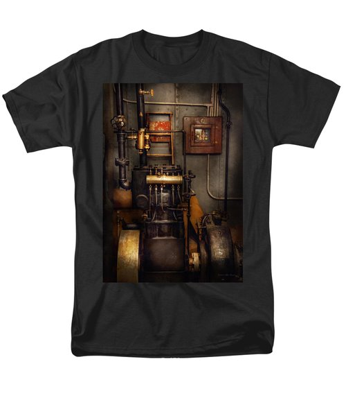Steampunk - Back in the engine room T-Shirt by Mike Savad