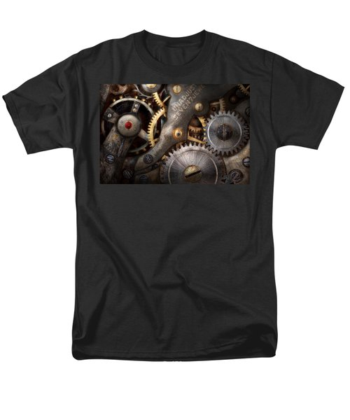 Steampunk - Gears - Horology T-Shirt by Mike Savad