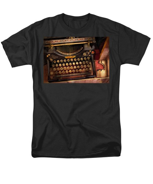 Steampunk - Just an ordinary typewriter  T-Shirt by Mike Savad