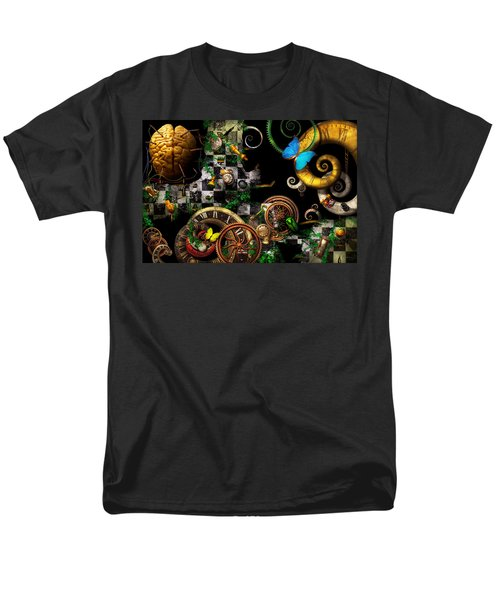 Steampunk - Surreal - Mind games T-Shirt by Mike Savad