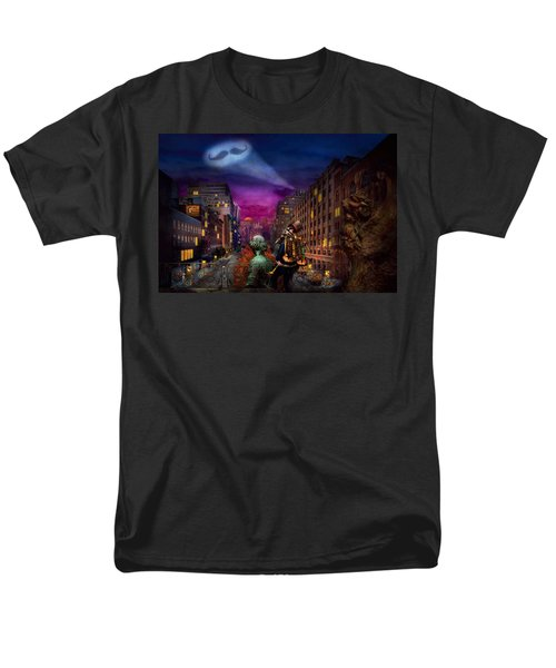 Steampunk - The Great Mustachio T-Shirt by Mike Savad