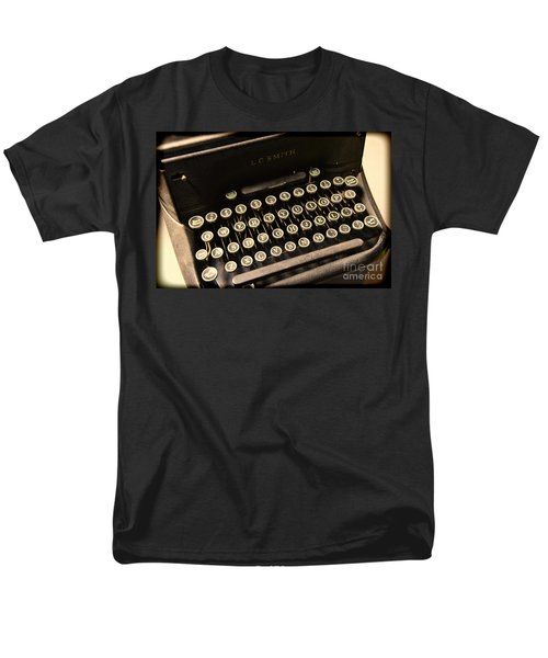 Steampunk - Typewriter - The Age of Industry T-Shirt by Paul Ward