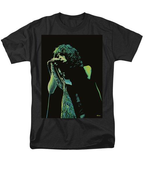 Steven Tyler 2 Men's T-Shirt  (Regular Fit) by Paul Meijering
