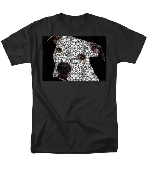 Stone Rock'd Dog by Sharon Cummings T-Shirt by Sharon Cummings