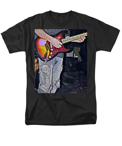 Strat Man  T-Shirt by Chris Berry
