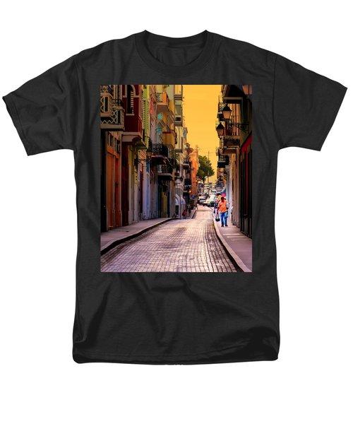STREETS of SAN JUAN T-Shirt by KAREN WILES