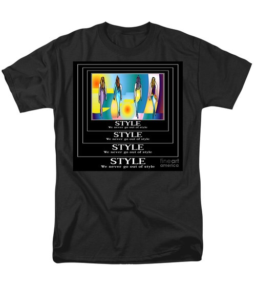 Style Men's T-Shirt  (Regular Fit) by Kim Peto