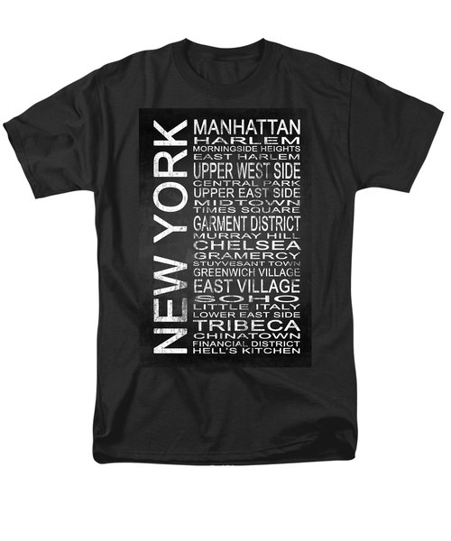 Subway New York 2 Men's T-Shirt  (Regular Fit) by Melissa Smith