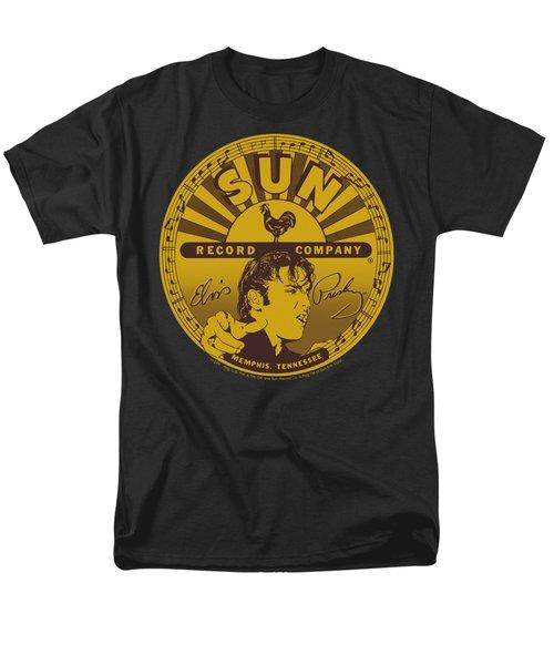 Sun - Elvis Full Sun Label Men's T-Shirt  (Regular Fit) by Brand A