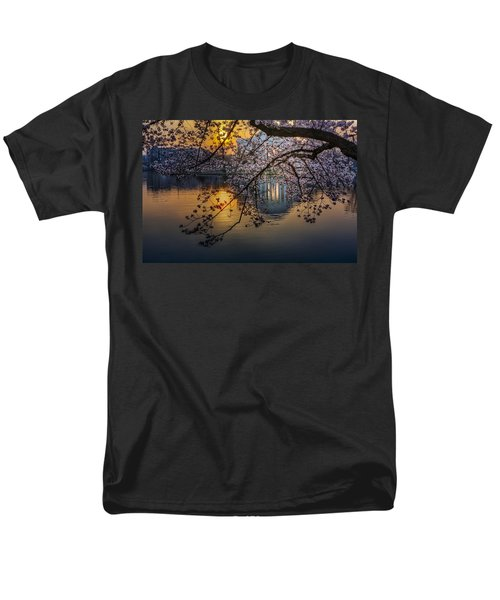 Sunrise At The Thomas Jefferson Memorial T-Shirt by Susan Candelario