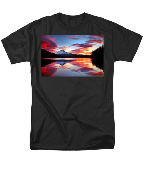 Sunrise on the Lake T-Shirt by Darren  White