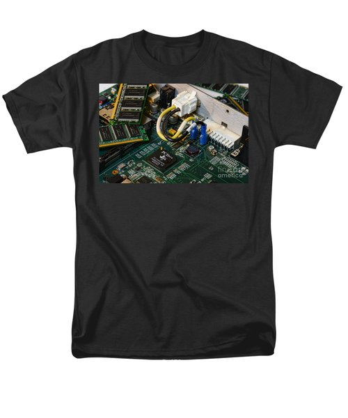 Technology - The Motherboard T-Shirt by Paul Ward