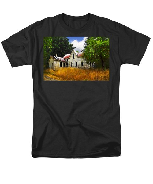 The Apple Tree on the HIll T-Shirt by Debra and Dave Vanderlaan