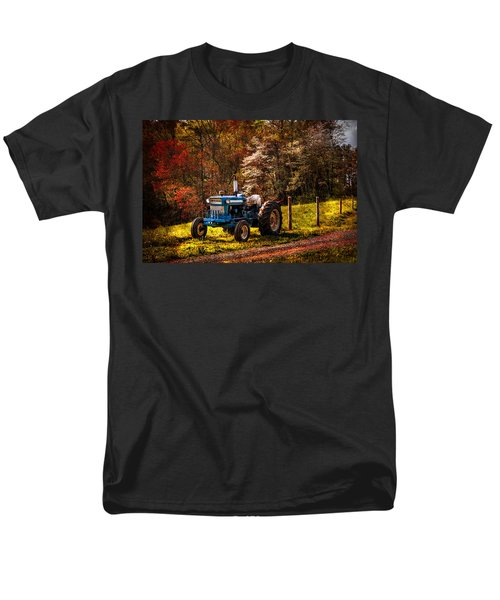 The Autumn Blues T-Shirt by Debra and Dave Vanderlaan